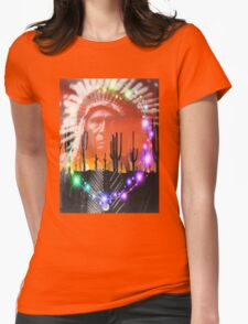 Ghost Dance Womens Fitted T-Shirt