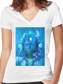 Magician Women's Fitted V-Neck T-Shirt