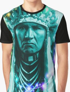 Magical Indian Chief Graphic T-Shirt