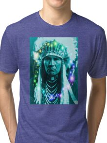 Magical Indian Chief Tri-blend T-Shirt
