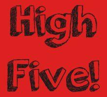 High Five! One Piece - Short Sleeve