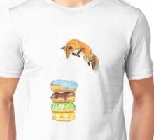 Donut Foxhole (Transparent Background) Unisex T-Shirt