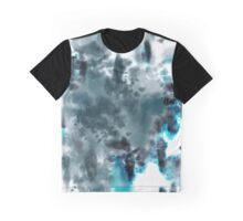 Neon Turquoise Tie-dye Graphic T-Shirt