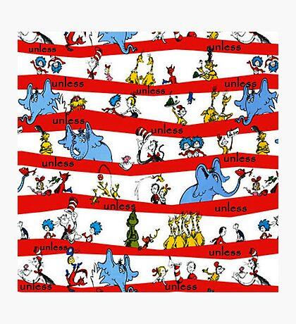 Dr Seuss Photographic Print