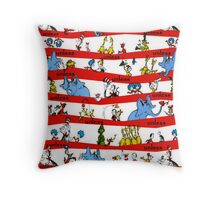 Dr Seuss Throw Pillow