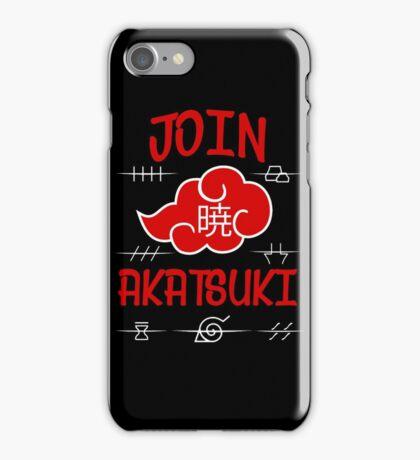 Join Akatsuki iPhone Case/Skin