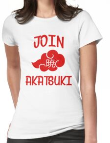 Join Akatsuki Womens Fitted T-Shirt