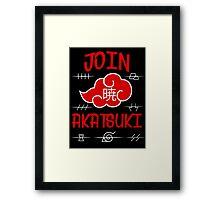 Join Akatsuki Framed Print