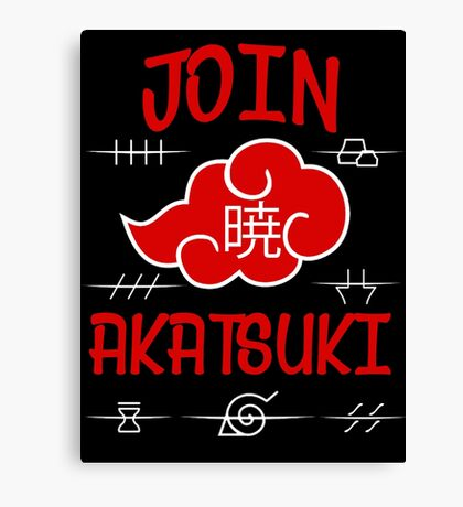 Join Akatsuki Canvas Print