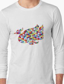 Swan Mural Long Sleeve T-Shirt