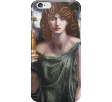Dante Gabriel Rossetti - Mnemosyne, Portrait Of A Woman iPhone Case/Skin