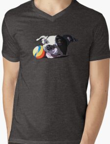 It's a Dog's Life Mens V-Neck T-Shirt