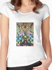 The Path - Where Will It Lead Us Women's Fitted Scoop T-Shirt