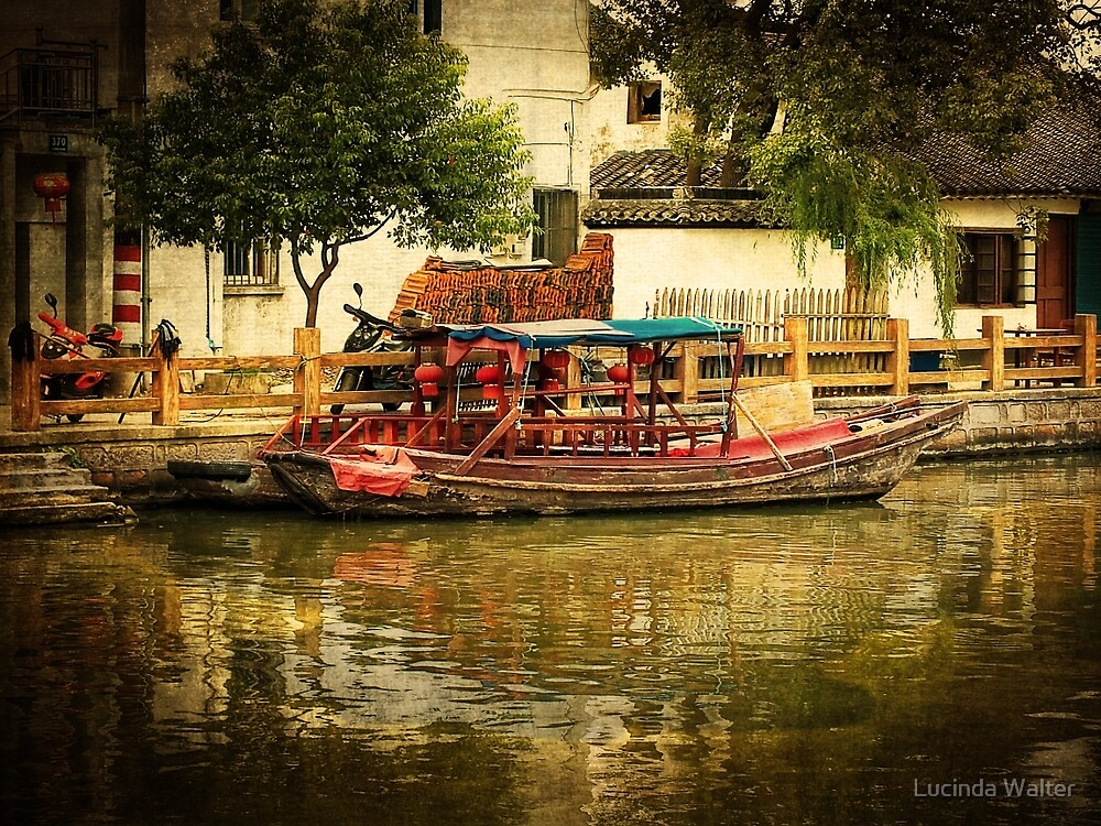 Life Along the River ~ Where old and new China meet by Lucinda Walter