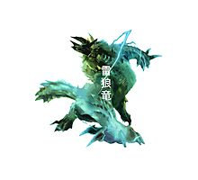 Monster Hunter - Jinouga Photographic Print