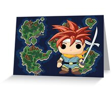 Crono Greeting Card