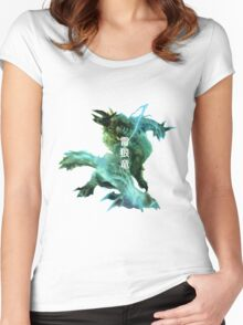 Monster Hunter - Jinouga Women's Fitted Scoop T-Shirt