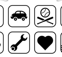 Multifunctional Uncle (16 Icons) Sticker