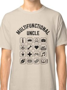 Multifunctional Uncle (16 Icons) Classic T-Shirt