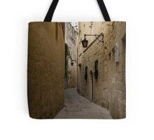 The Silent City - Mdina, the Ancient Capital of Malta Tote Bag