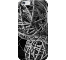 Abstract Wire And Spheres iPhone Case/Skin