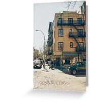 Greenwich Village Greeting Card