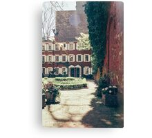 NYC Courtyard Canvas Print