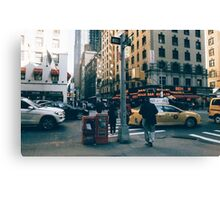 NYC Streets Canvas Print