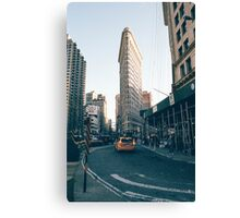 The Flatiron Building Canvas Print