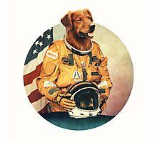 Astronimals: L. Brador (Circular) Photographic Print