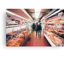 Chinatown Supermarket Canvas Print