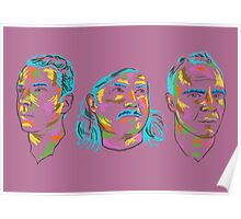 FUTURE ISLANDS HEADS Poster