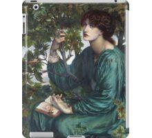 Dante Gabriel Rossetti - The Day Dream , Portrait Of A Woman iPad Case/Skin