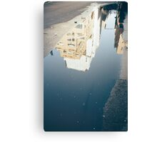 Skyscraper Puddle Canvas Print
