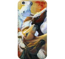 Running The Race iPhone Case/Skin