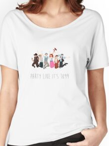 Party Like It's 1899 - for white things! Women's Relaxed Fit T-Shirt