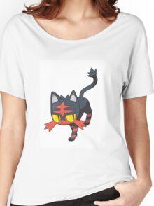 Litten - NEW Pokemon game Starter Women's Relaxed Fit T-Shirt