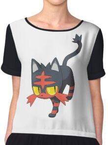 Litten - NEW Pokemon game Starter Chiffon Top