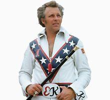 Evel Clipped Men's Baseball ¾ T-Shirt