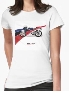 HONDA RC30 VFR750R TRIBUTE Womens Fitted T-Shirt