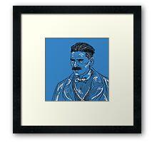 Arthur Shelby Graphic- Peaky Blinders Framed Print