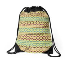 AZTEC Pattern 1-2 Drawstring Bag