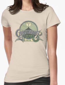 Glastonbury retro vintage design from 1979 festival Womens Fitted T-Shirt