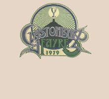 Glastonbury retro vintage design from 1979 festival Unisex T-Shirt