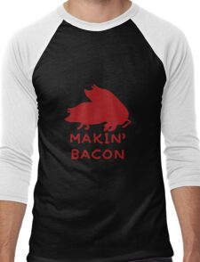 Bacon Lovers Men's Baseball ¾ T-Shirt