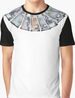 Ian Brown Stone Roses style money Graphic T-Shirt