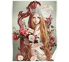 The Flowers Mirror Poster