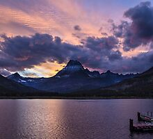 Swiftcurrent Sunset Series by Mitchel Whitehead