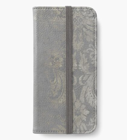 Grunge Damask iPhone Wallet/Case/Skin