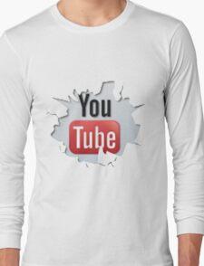 youtube Long Sleeve T-Shirt